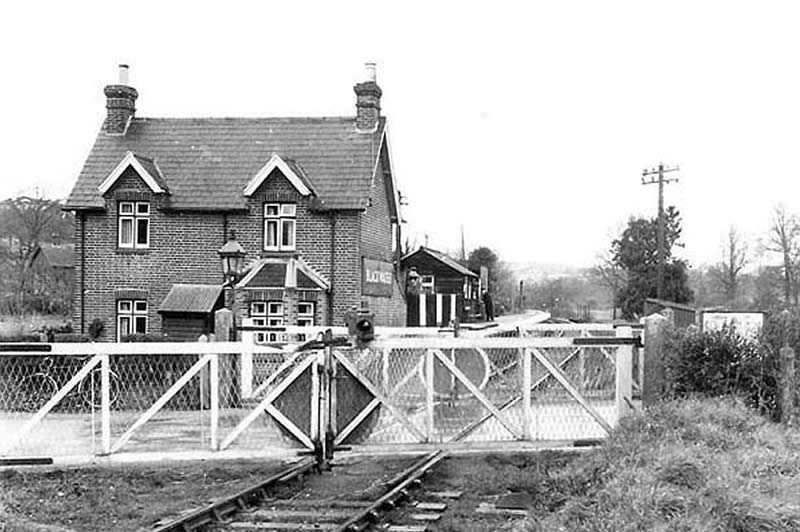 Blackwater station in the 1950s.