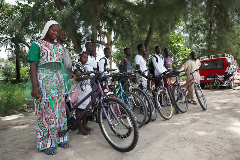 Re-Cycle bikes for Africa
