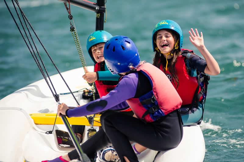 Sailing with UKSA