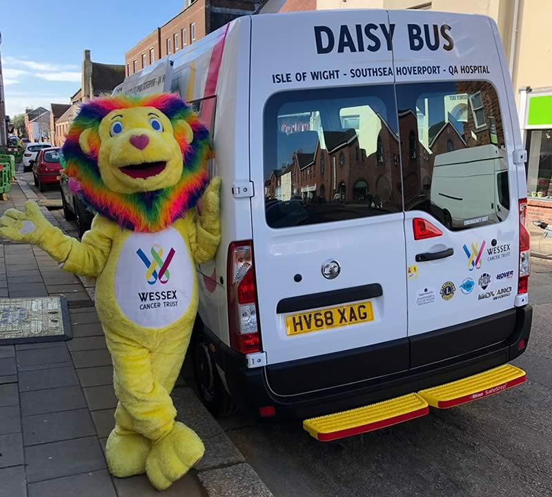 Wessex Cancer Trust - Daisy Bus