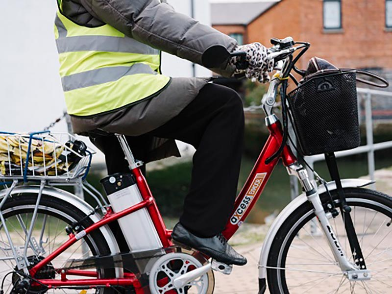 Active travel by bike
