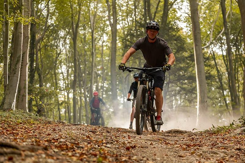 Mountain biking on the Isle of Wight